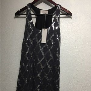 NWT lush dresses dark gray